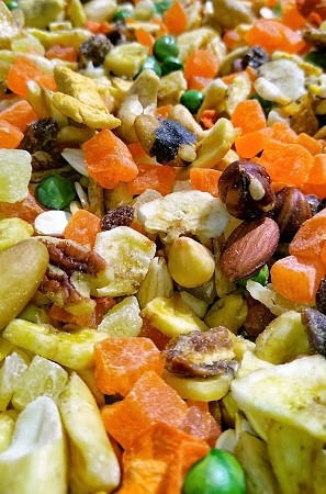 Parrot Fruit & Nut Mix